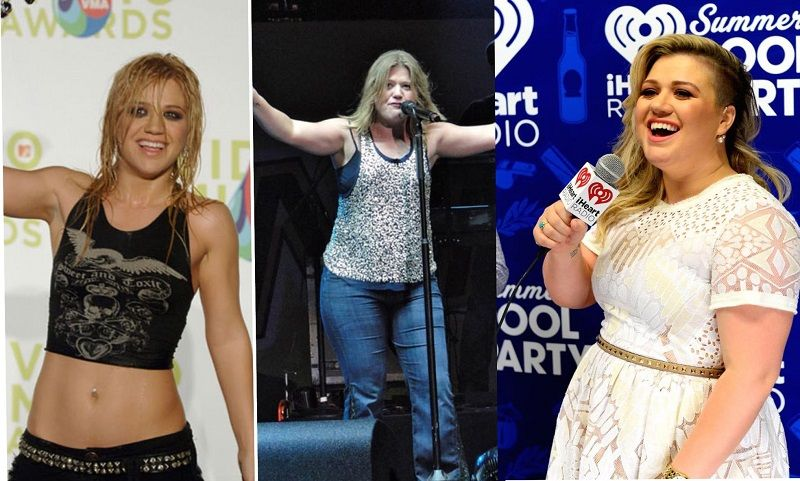 Kelly Clarkson's incredible weight los