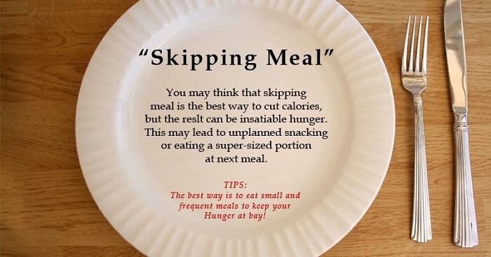 Skipping Meals – Bad for health