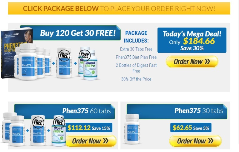 Phen375 Discount Offer