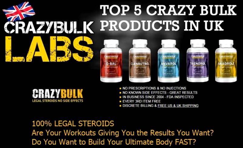 [OCT 2017] Crazy Bulk Discount Code UK (BUY 2 - Get 1 FREE OFFER)