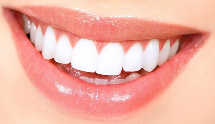 get pink gums and healty teeth