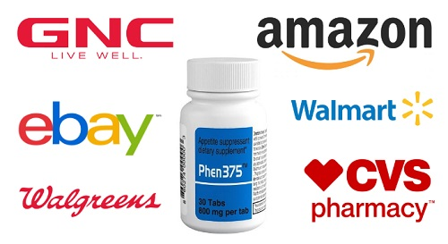 Phen375 GNC | Where to buy Phen375 GNC, Amazon, Walmart or eBay?