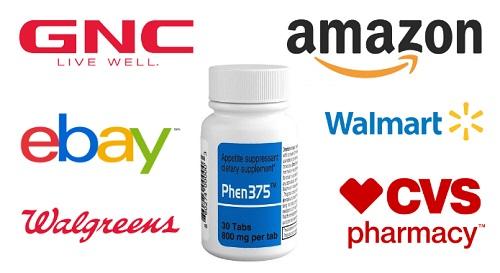 Phen375 GNC | Where to buy Phen375 GNC, Amazon, Walmart or eBay?