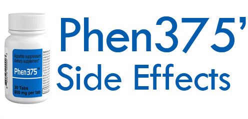 side effects of phen375