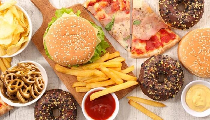 ultra-processed foods or junk foods cause fat